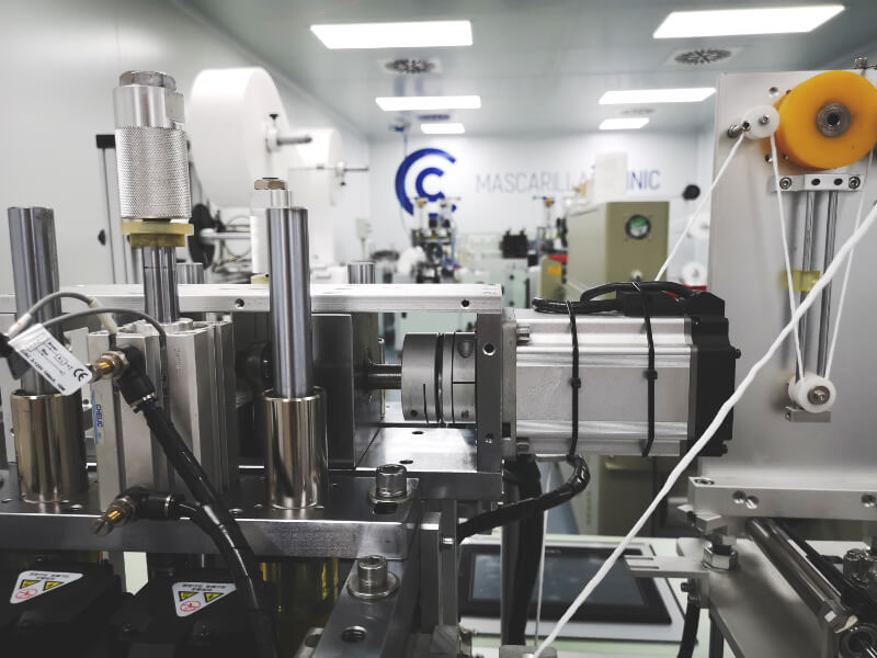 Mascarillas Clinic Sala fabricación mascarillas